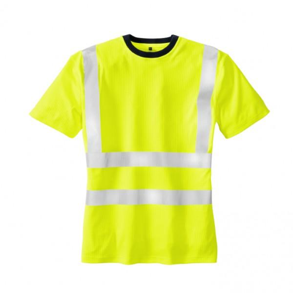 teXXor® Warnschutz-T-Shirt HOOGE, leuchtgelb 7008