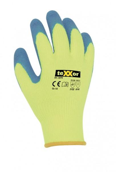 teXXor® Winterhandschuhe LATEX 2270